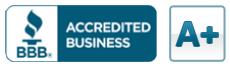 Excellent BBB rating for debt management service