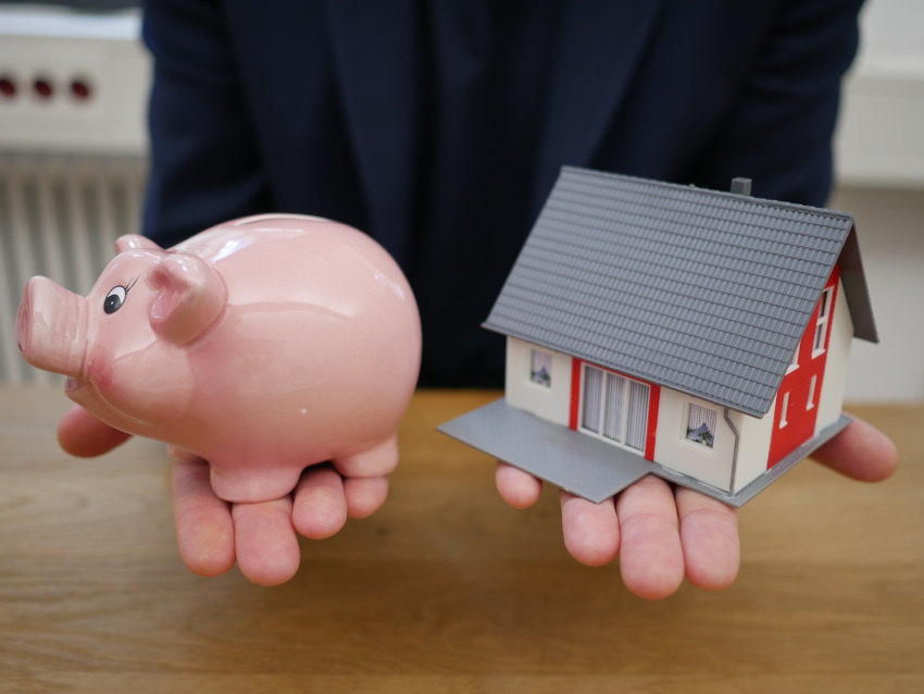 Piggy Bank and House - Home Equity